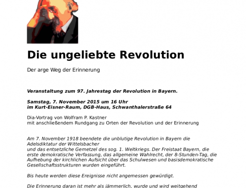 7. November Revolution in Bayern